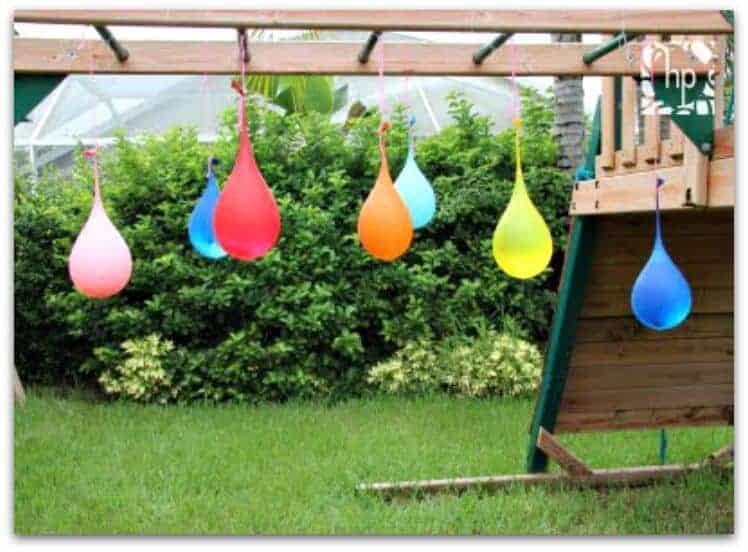 DIY water balloon pinata