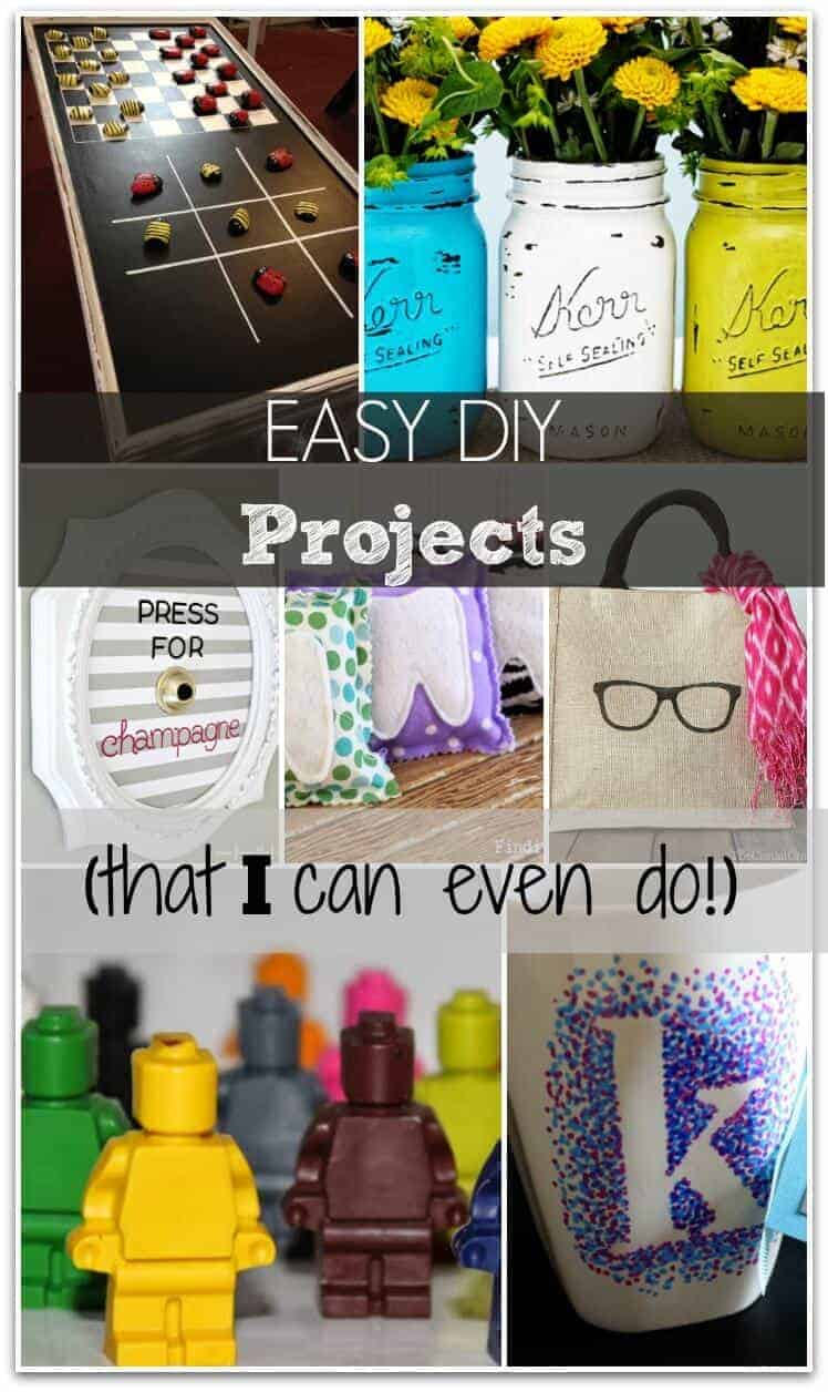 Easy DIY Projects That Anyone Can Do! (even Me