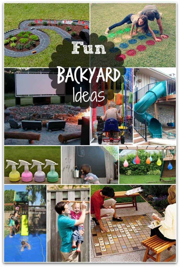 Fun Backyard Ideas These DIY Ideas Will Make Summertime A Blast - Fun backyard ideas