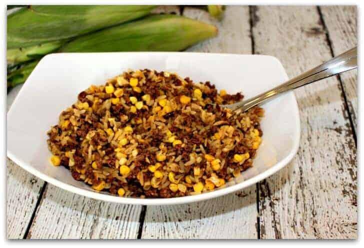 corn burrito