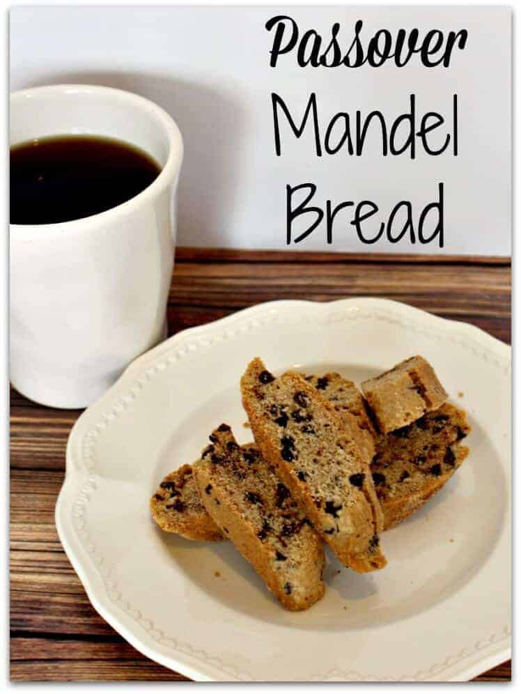 Cinnamon & Chocolate Chip Passover Mandel Bread - Princess Pinky Girl