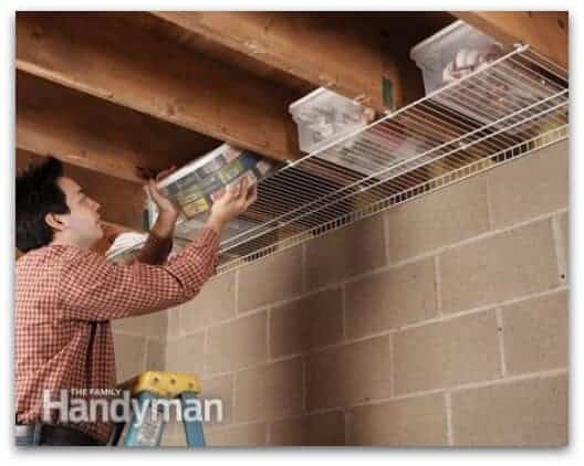 Joist-Space Space-Saver