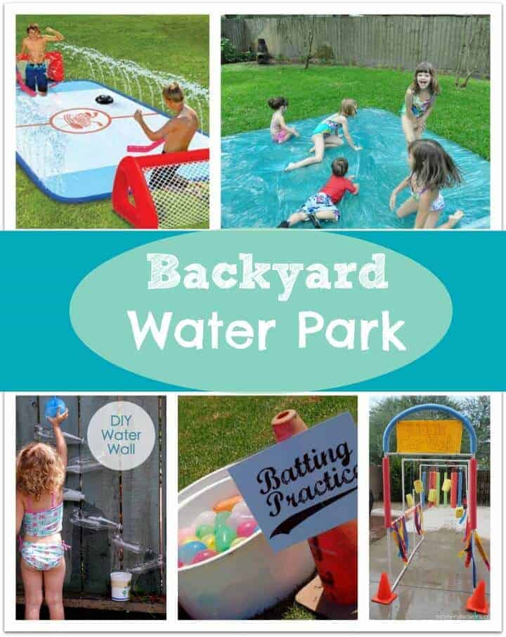 backyard water park