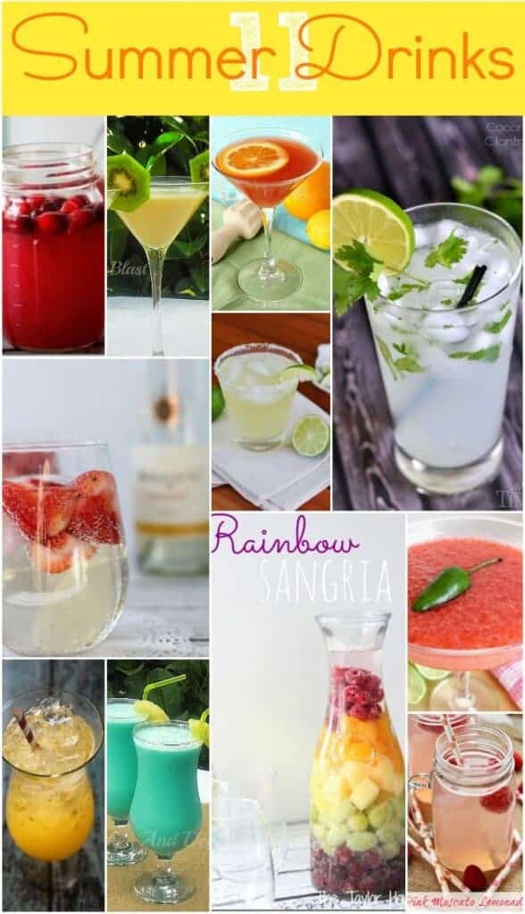 Summer drinks to sip by the pool