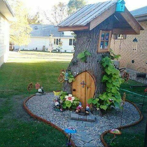What to do with an old tree stump! Backyard hacks!