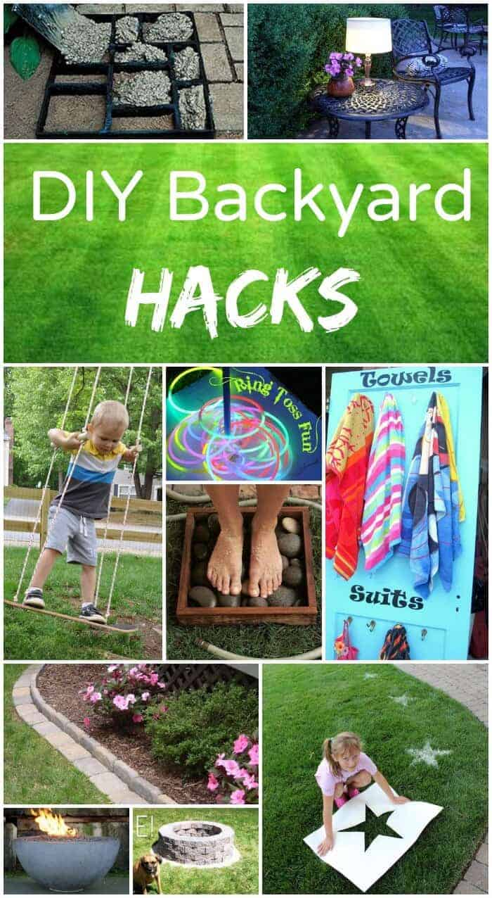 Back yard hacks