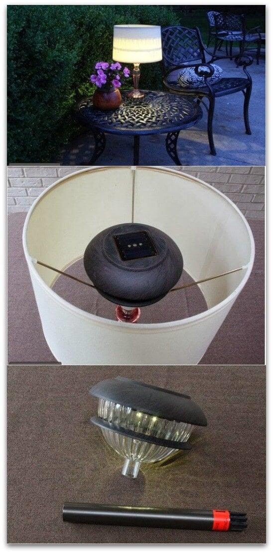 DIY Outdoor Lamp