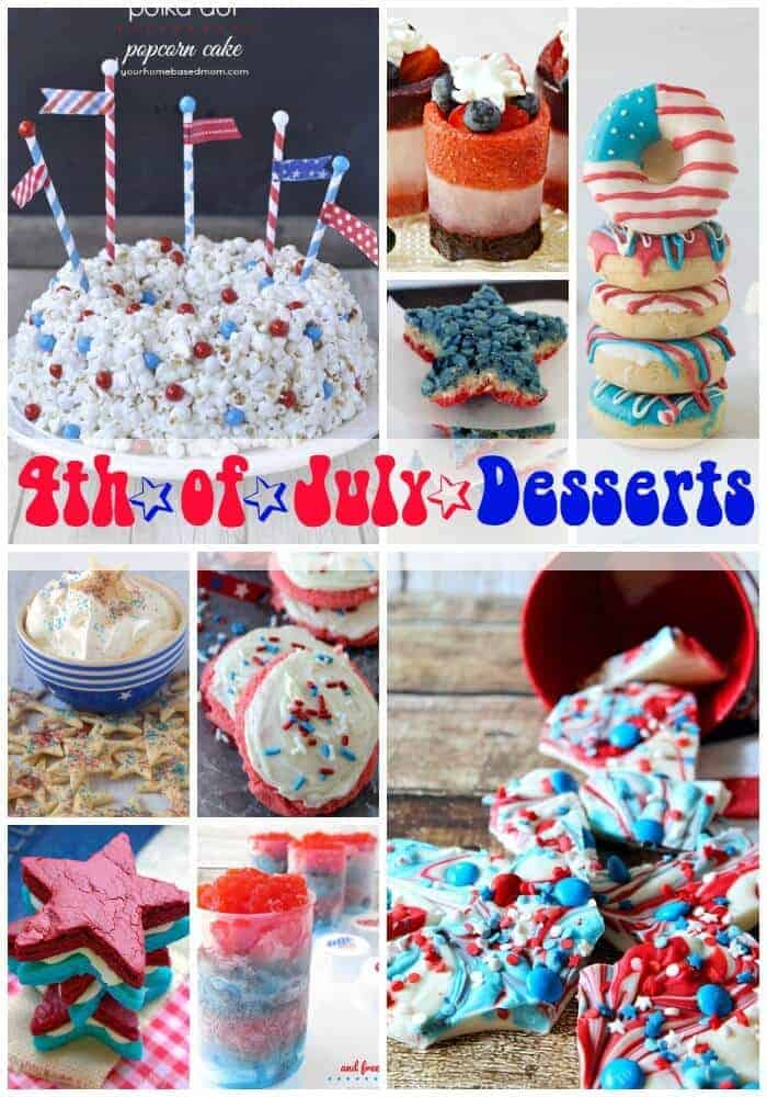 Fourth Of July Desserts Princess Pinky Girl