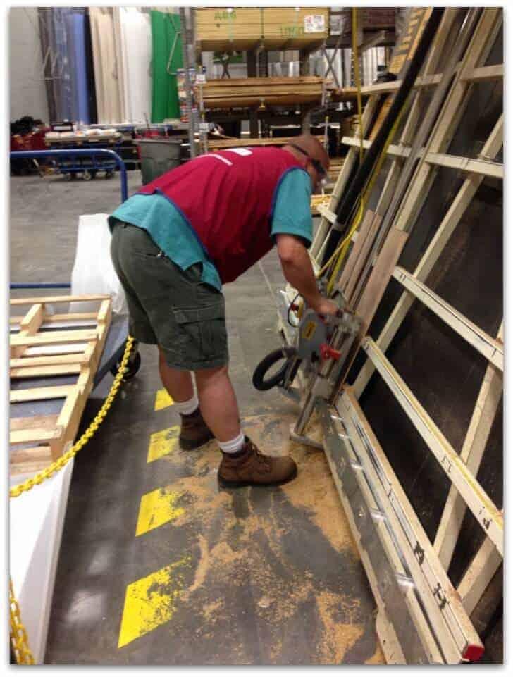home depot cutting board