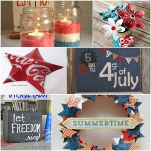 Last Minute 4th of July decorations