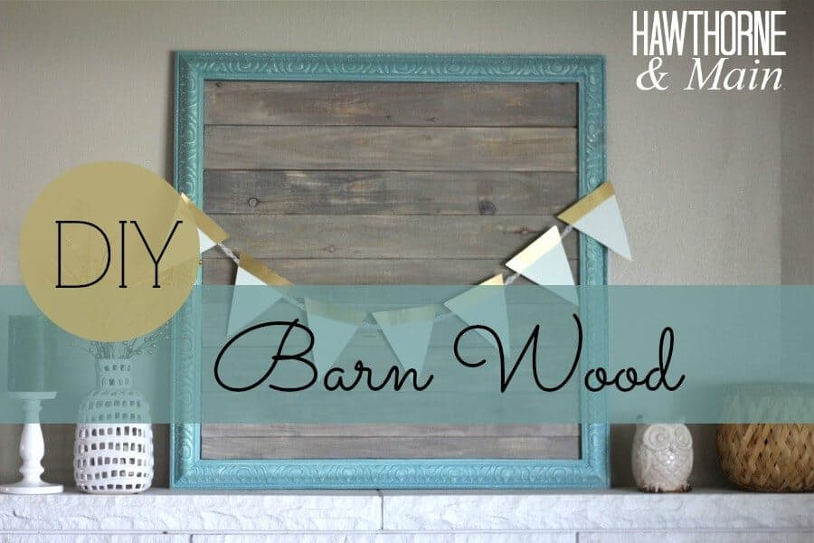 DIY Barn Wood Picture Frame - Page 2 of 2 - Princess Pinky ...