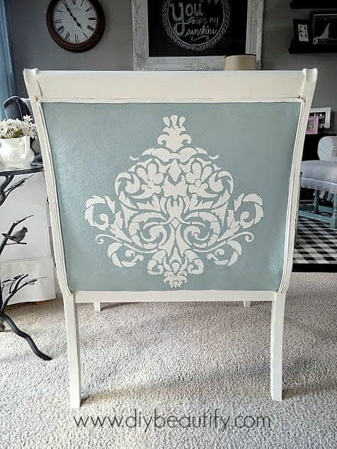 Painted Chair from DIY Beautify