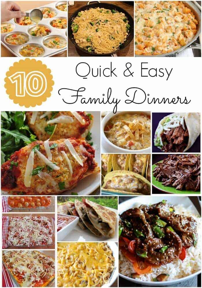 Top 28 and easy meals for 31 easy dinner recipes for for Easy things to make for dinner for two