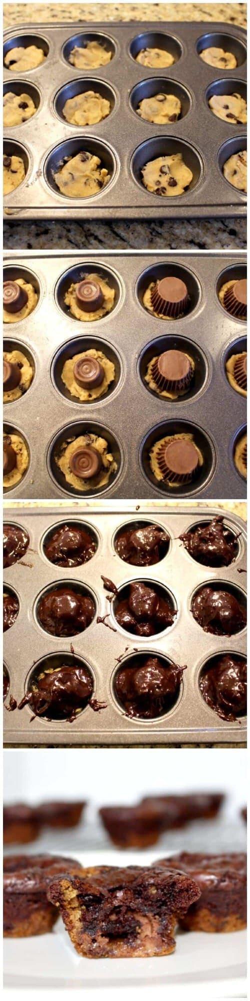 Cookies Brownies And Bars Cookie Brownie Bites Pictorial