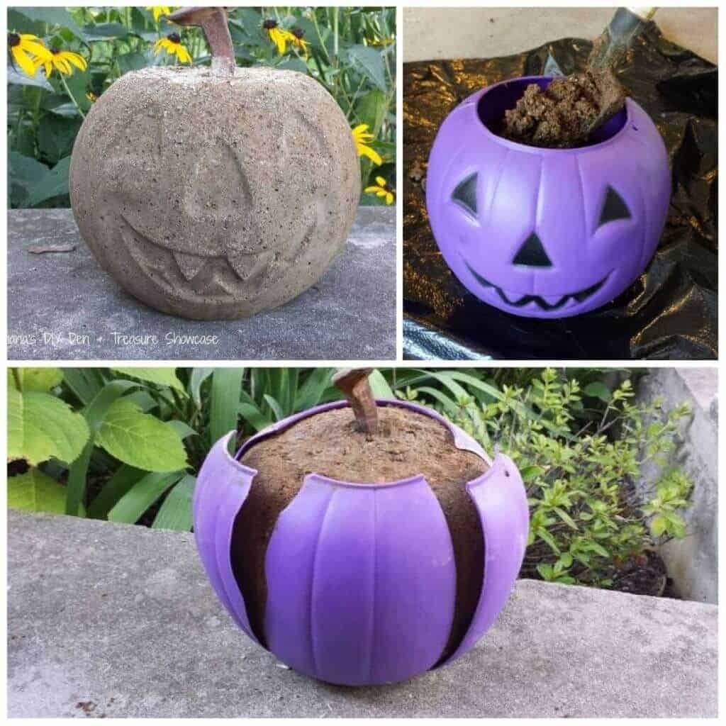 cement pumpkin