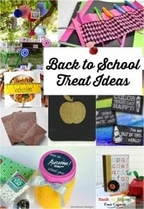 10 Back to School Treat Ideas