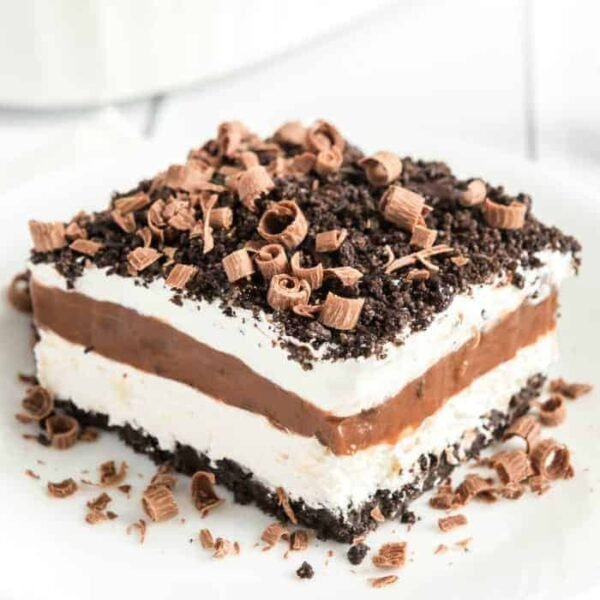 easy chocolate lasagna