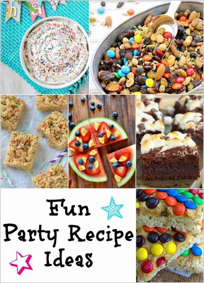 Fun Party Recipe Ideas from Princess Pinky Girl