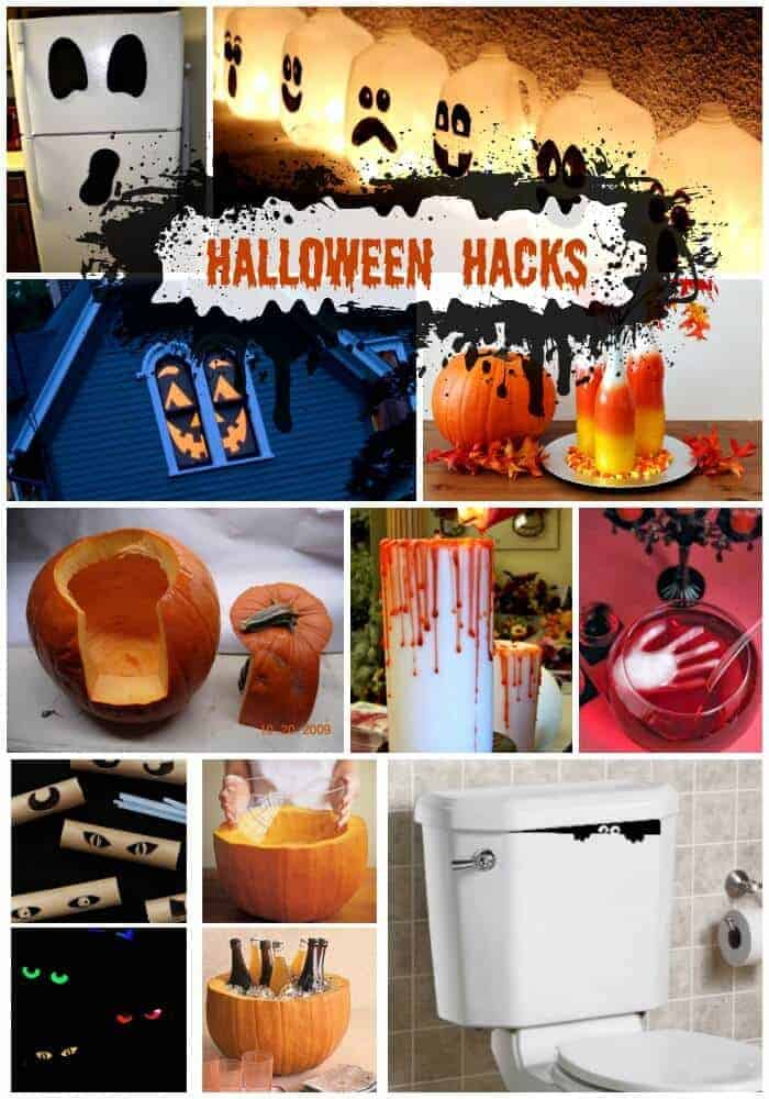 Halloween Hacks and decorating ideas