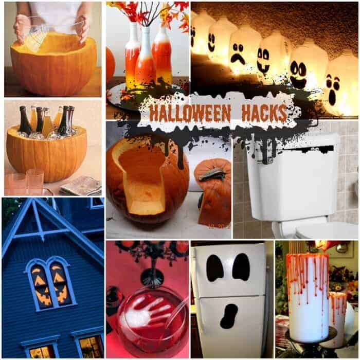 These Halloween Hacks and DIY Halloween decorations will make your Halloween extra spooky