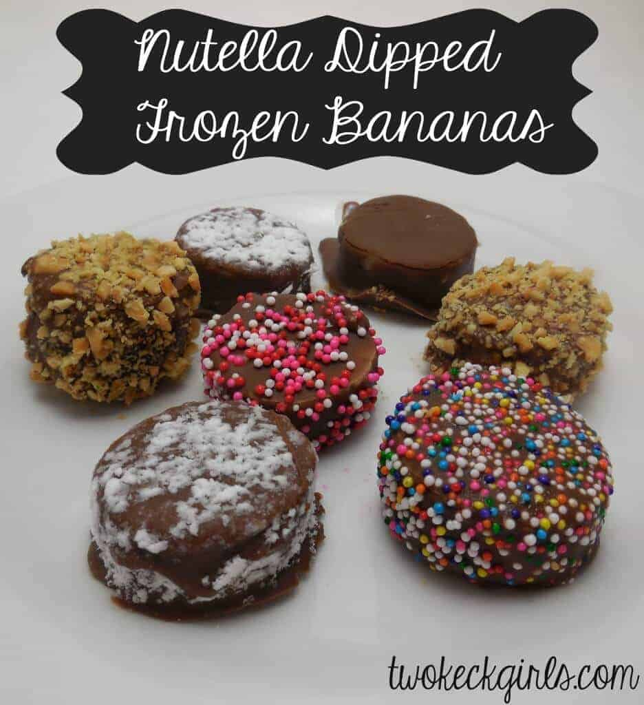 Nutella Banana Bites from Two Keck GIrls