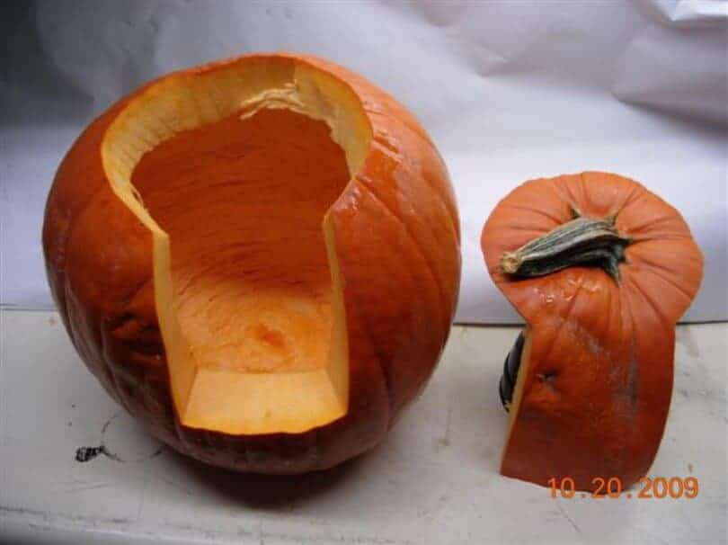 Perfect pumpkin carving