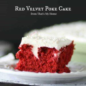 Red Velvet Poke Cake 1