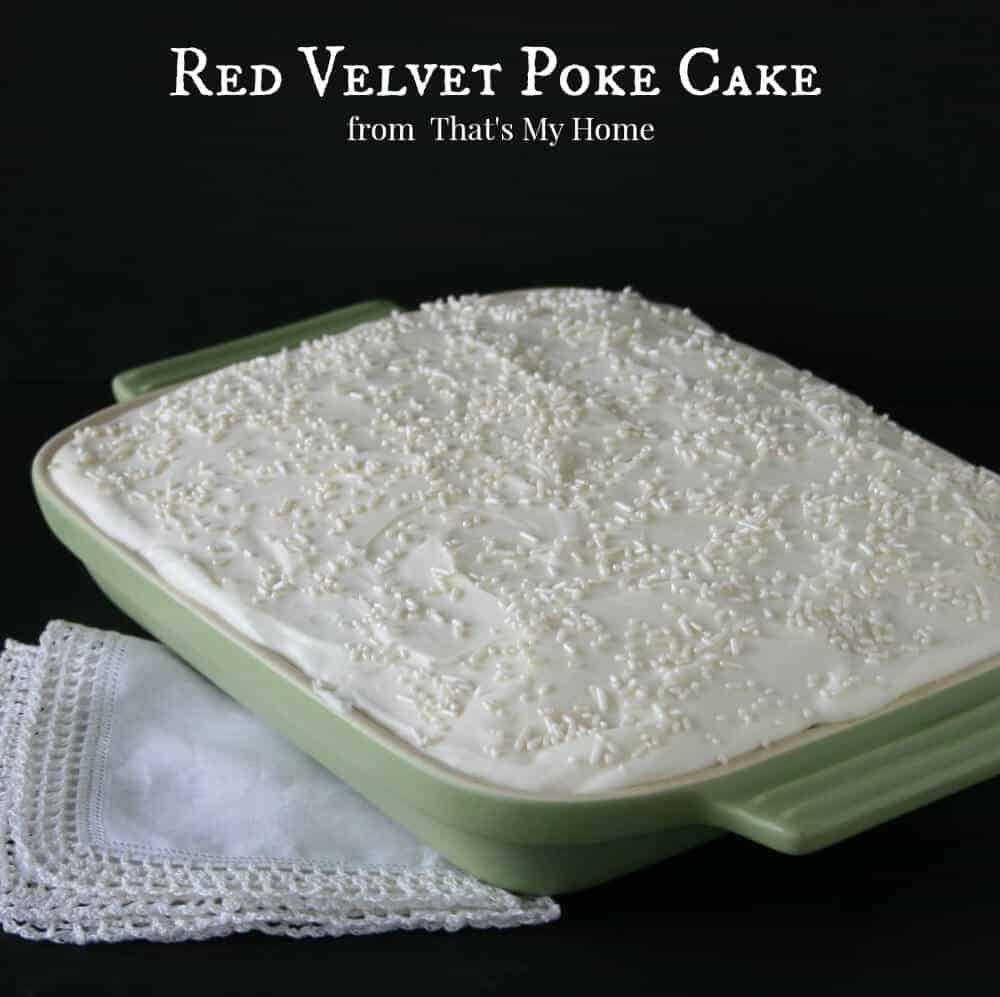 Red Velvet Poke Cake 2