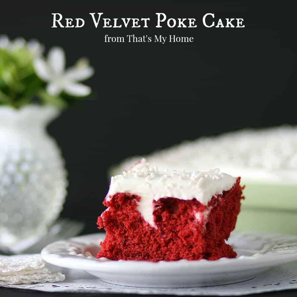Red Velvet Poke Cake Facebook
