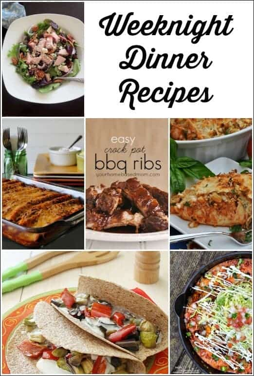 Weeknight Dinner Recipes, dinner ideas
