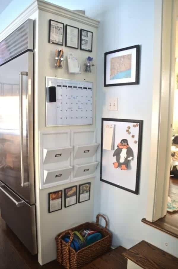 kitchen organization station