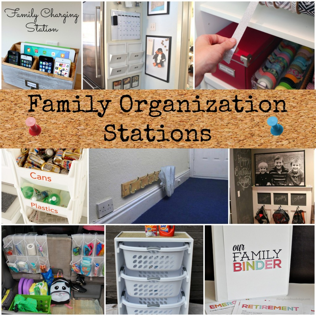 Family Organization Stations - Page 2 of 2