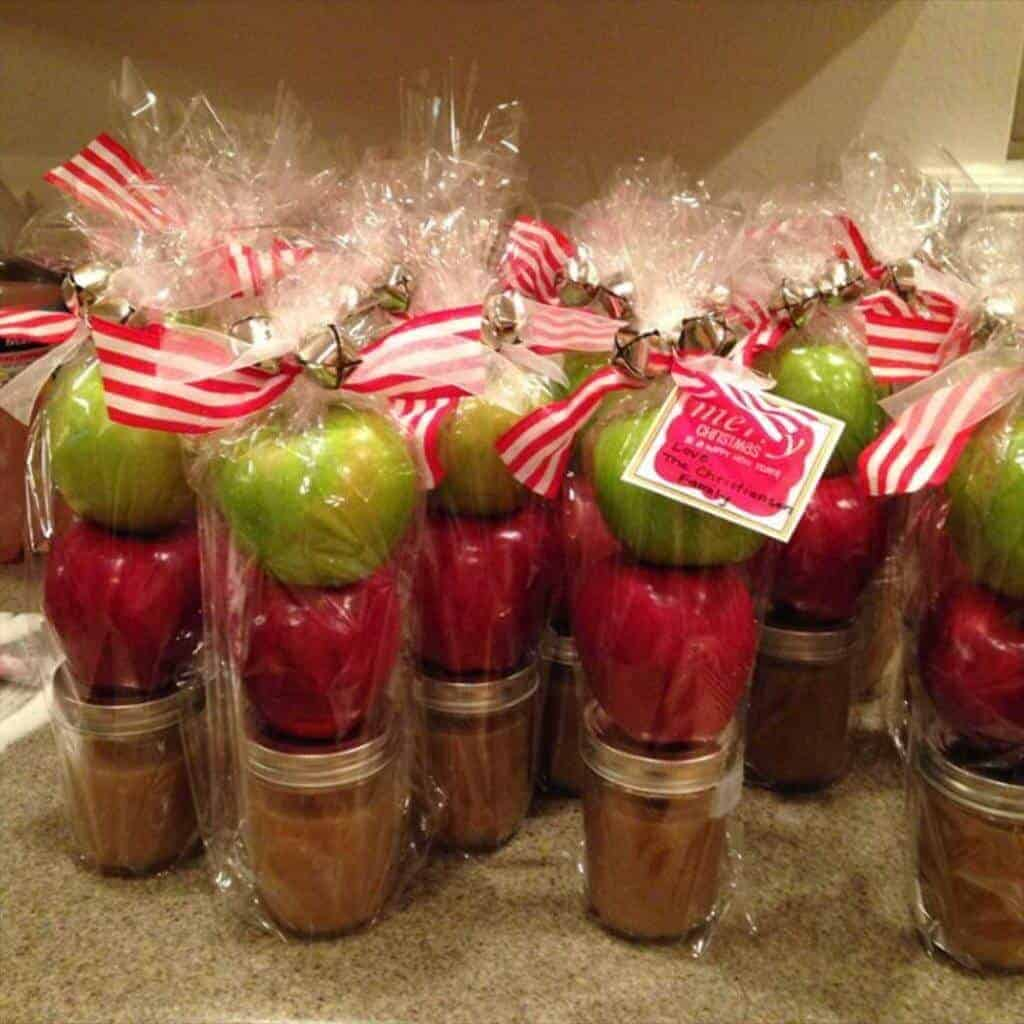 Apple and Salted Caramel Dip Gift from Sally's Baking Addiction