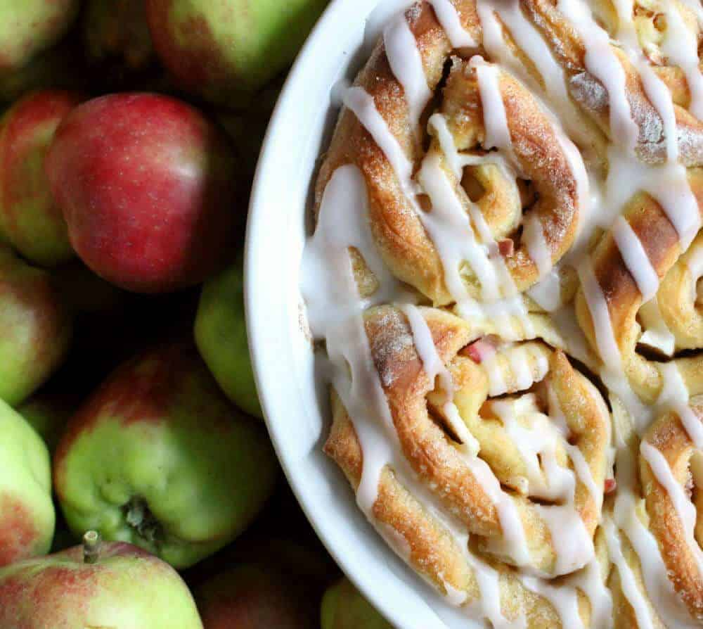 Apple Cinnamon Rolls from the Simple Sweet Life