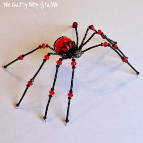 Beaded spider from the Crafty Blog Stalker