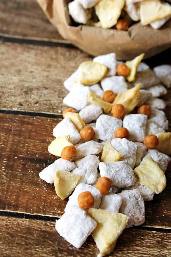 Caramel Apple Muddy Buddies from Life with the Crust Off