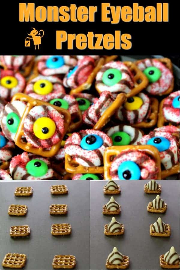 How to make Monster Eyeball Pretzels