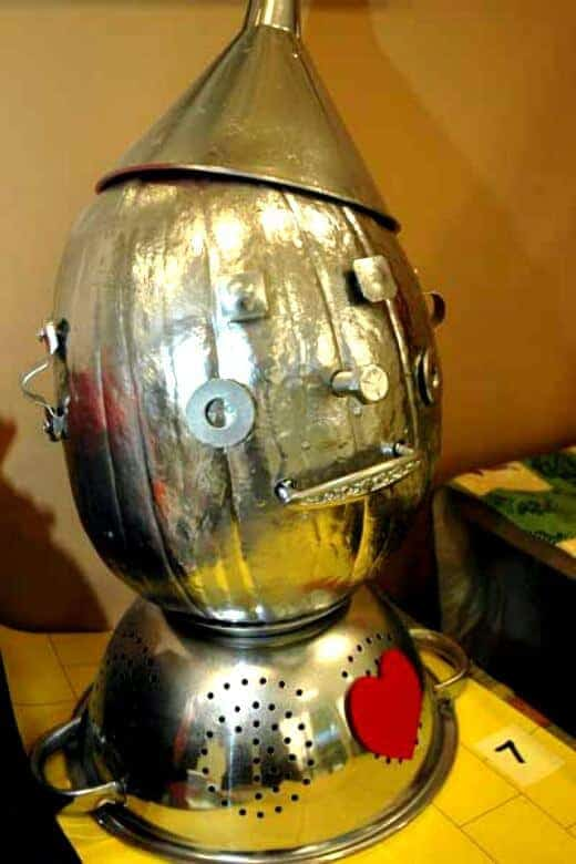 Tin Man Pumpkin