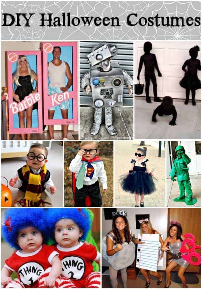 diy halloween costumes pin words