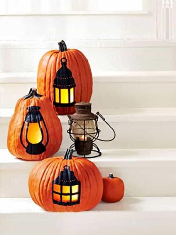 pumkin lanterns