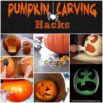 Halloween Pumpkin Carving Hacks