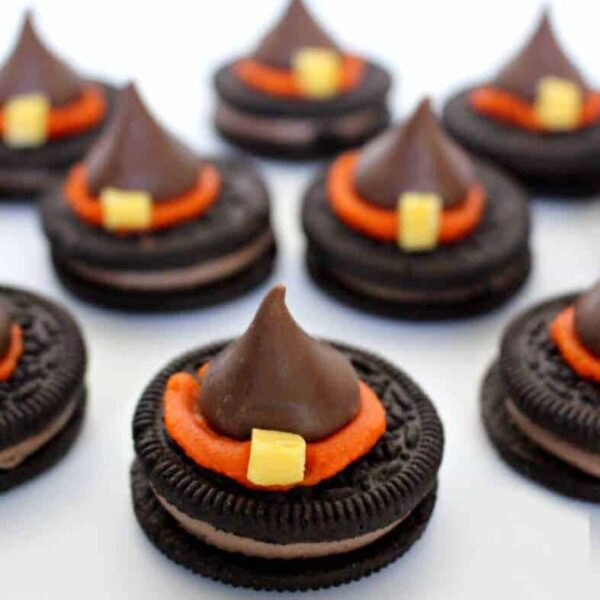 Halloween Witch Hat Cookies