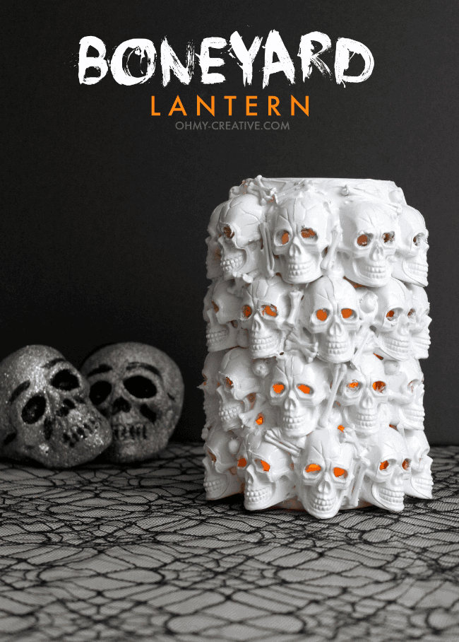 Boneyard Lantern by Oh My Creative