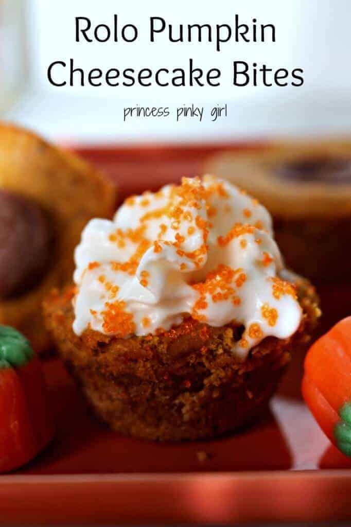 Cheesecake bites pin words