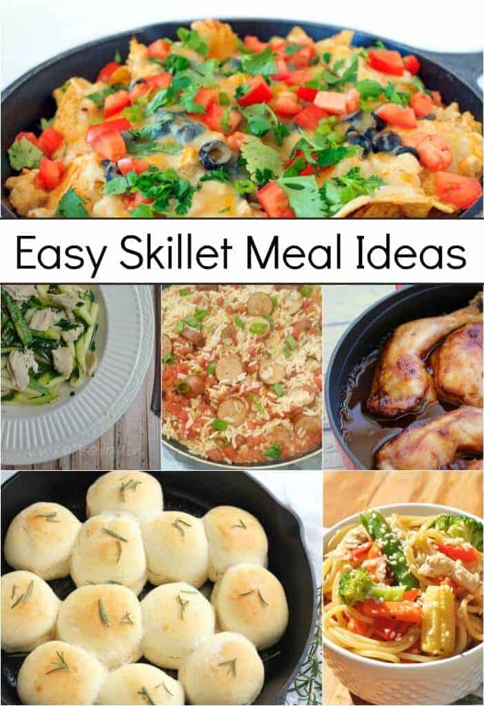 Easy Skillet Meal Ideas by Princess Pinky Girl
