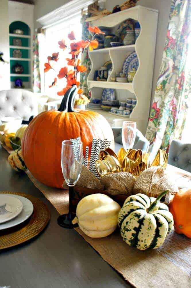 Fall Table by Chaotically Creative