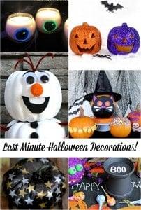 Last Minute Halloween Decoration Ideas