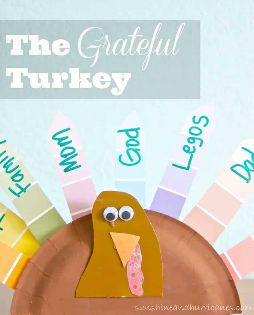 Grateful Turkey by Sunshine and Hurricanes