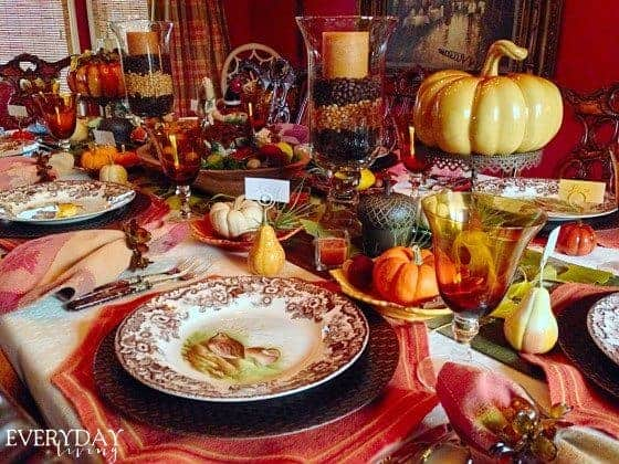 Thanksgiving Table by Everyday Living