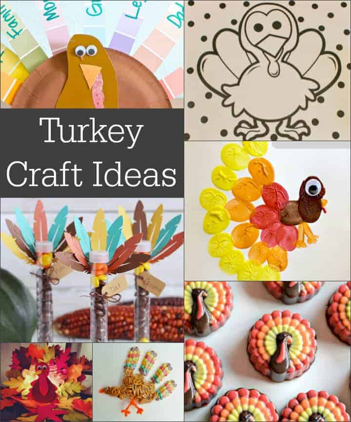 Fun and easy turkey craft ideas for kids!